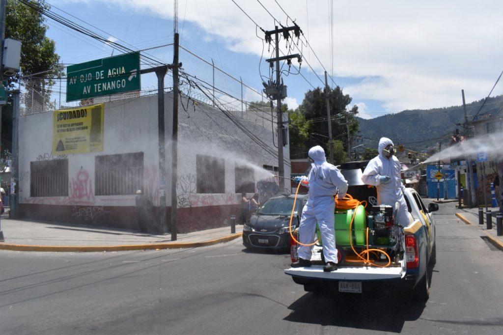 Magdalena Contreras sanitización