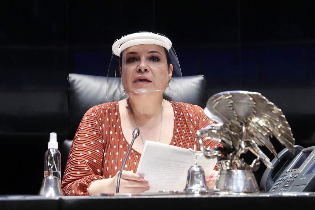 Mónica Fernández Balboa, Presidenta de la Mesa Directiva del Congreso de la Unión